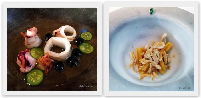 6 Calamares y Pasta casarecce espardenyes