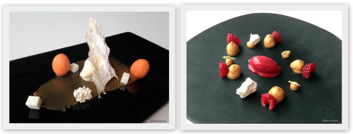Huevo y lácteos y Frutos rojos
